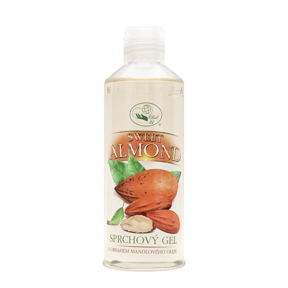 Sweet Almond sprchový gel 250ml