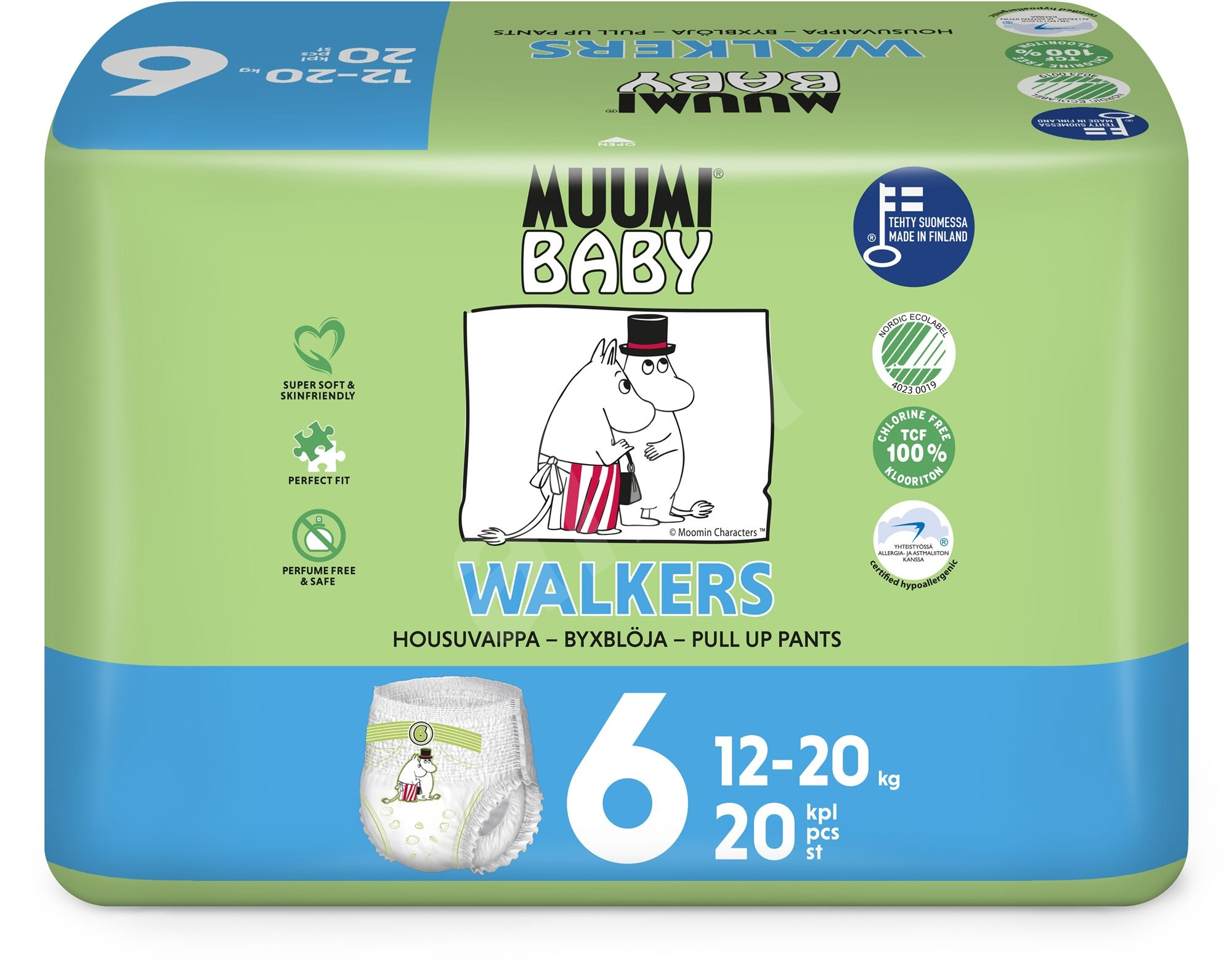 Muumi Baby Walkers 36 ksJunior 12-20 kg