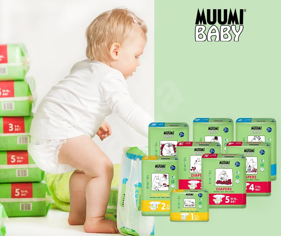 Muumi Baby Walkers 34 ks Extra Large 16-26 kg